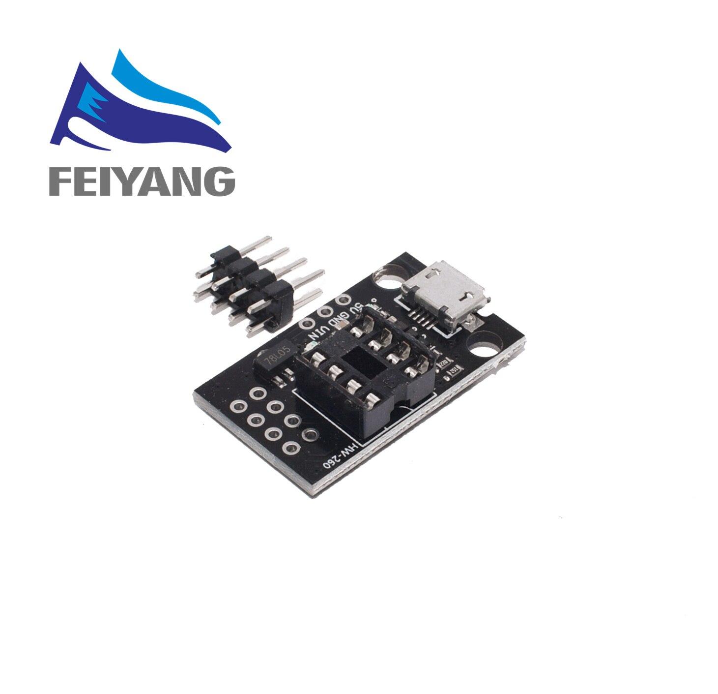 1 шт. синий черный TINY85 Digispark Kickstarter микро макетная плата ATTINY85 модуль для Arduino IIC IEC USB