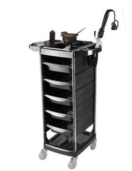 Hair salon tool cart beauty salon tool cart 6 floor barbershop cart.