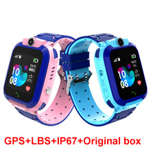 GPS Kids Smart Watch IP67 Waterproof Baby Clock SOS Call Location Finder Watch Locator Tracker Anti Lost Monitor Kids Watch Gift(China)