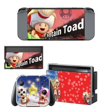 Nintendo Switch Vinyl Skins Sticker For Nintendo Switch Console and Controller Skin Set – Captain Toad Treasure Tracker