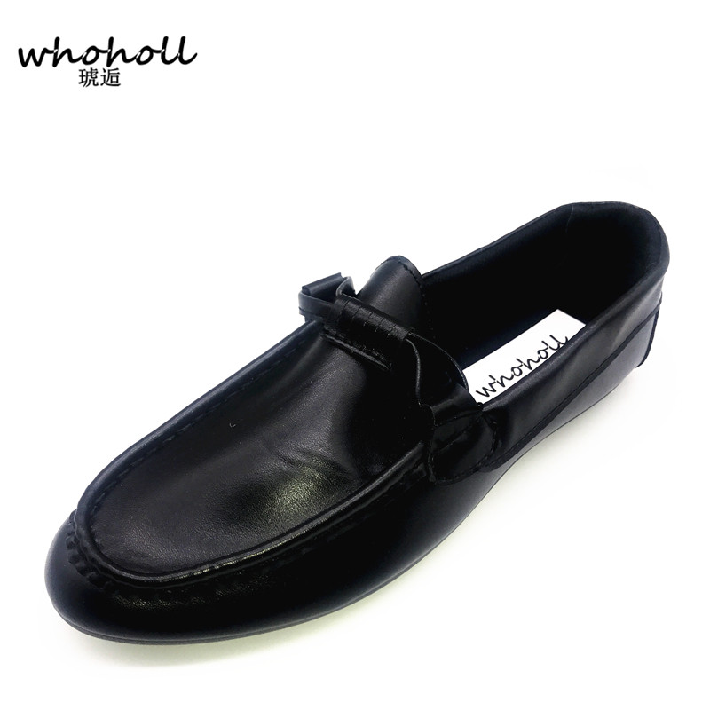 2017 Summer Men Casual Shoes High Qualtiy Split Leather Shoes Fashion Men Driving Flats Breathable Slip On Lazy Shoes Size 38-44 relikey brand summer slip on driving shoes for men full grain leather high quality breathable moccasins soft solid men shoes