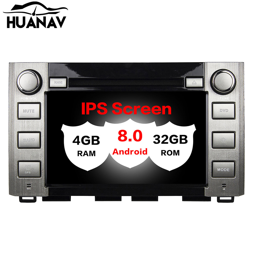 Android 8.0 Car DVD Player Multimedia Stereo For Toyota Sequoia Tundra 2014 2015 2016 Auto radio player GPS Navigation recorder image