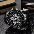 Мужские спортивные часы Топ бренд класса люкс 2018 для мужчин военные наручные часы мужские часы relogio masculino кварцевые наручные часы водонепро...