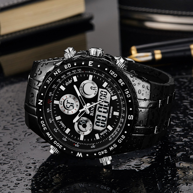 Orologi sportivi da uomo Top Brand Luxury 2018 For Men Military Wristwatch Orologio maschile relogio masculino Orologio da polso al quarzo Impermeabile