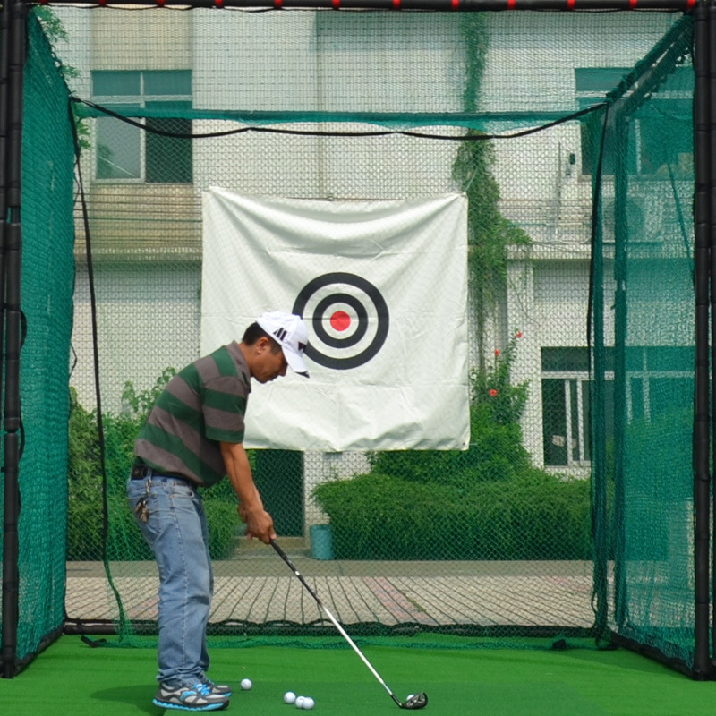 OEM Golf Cage 3 3 3 M Large Cage Backyard Golf Practice Cage Professional Combat Cage with Soft in Golf Training Aids from Sports Entertainment