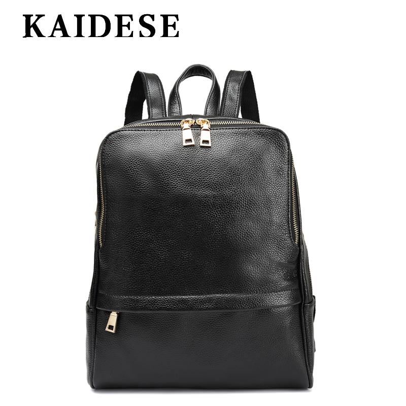 KAIDESE 2018 new college wind shoulder bag lady leisure fashion backpack large capacity travel soft Backpack