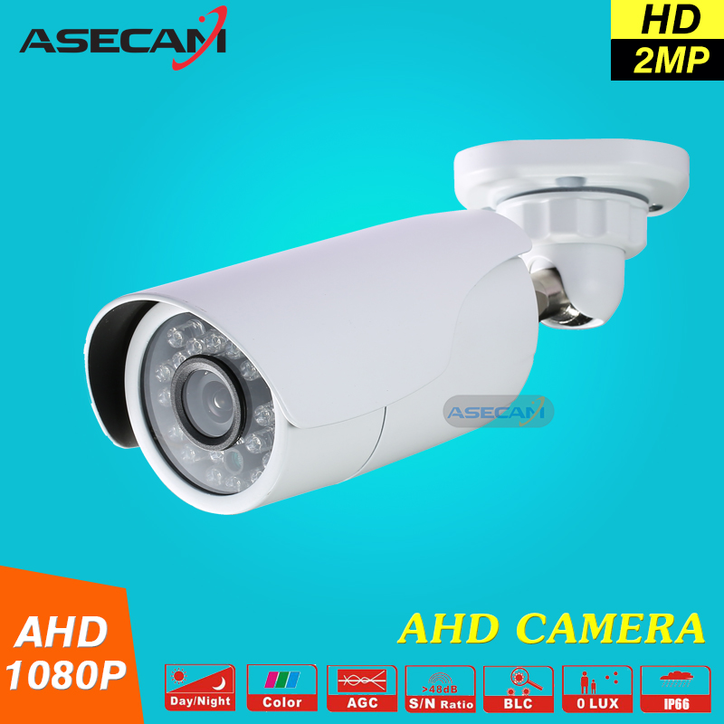 New 2MP 1080P CCTV AHD Camera AHDH System Security Outdoor Waterproof Bullet 24*leds infrared Night Vision Surveillance new cctv ahd hd 960p surveillance waterproof outdoor metal bullet security camera infrared night vision 50meter