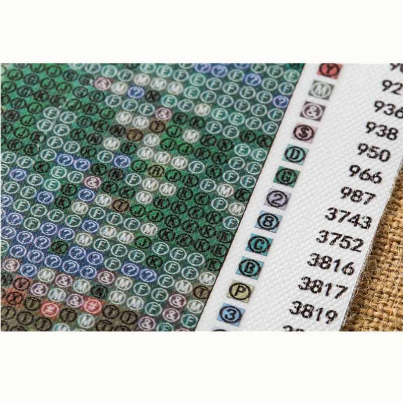 "ZJZY diy diamond painting cross stitch 5d diamond embroidery round rhinestone  "" cartoon Woezel Pip"" mural craft gift LY314"