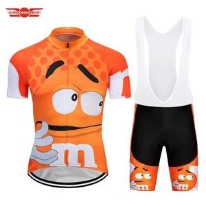 Image 4 - Crossrider 2020 komik bisiklet Jersey MTB dağ bisikleti giyim erkekler kısa Set Ropa Ciclismo bisiklet giyim Maillot Culotte