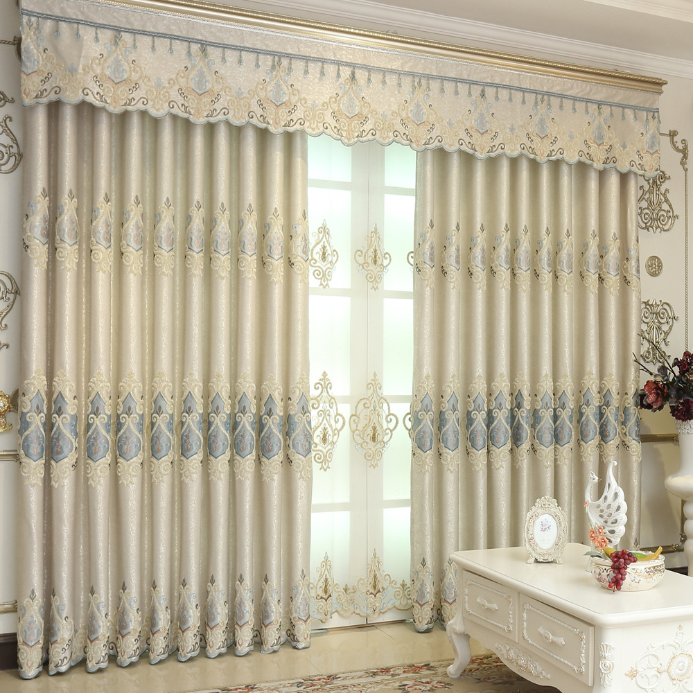 Buy fyfuyoufy high quality european style - European style curtains for living room ...
