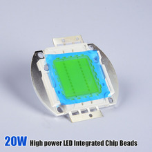 20W Integrated High Power LED Light Beads Chips Diodes White/Warm white 30-32V for LED Lamp Flood Light Spotlight
