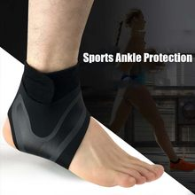 Ankle Brace Support Sport Socks Foot Protect Bandage Sprain Prevention Elasticity Adjustment Protection Fitness Ankle weights(China)
