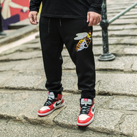 2017 New plus size 48 46 44 Pants comfortable Casual Sweatpants Solid Hip Hop high street Trousers Pants Men Joggers oversize