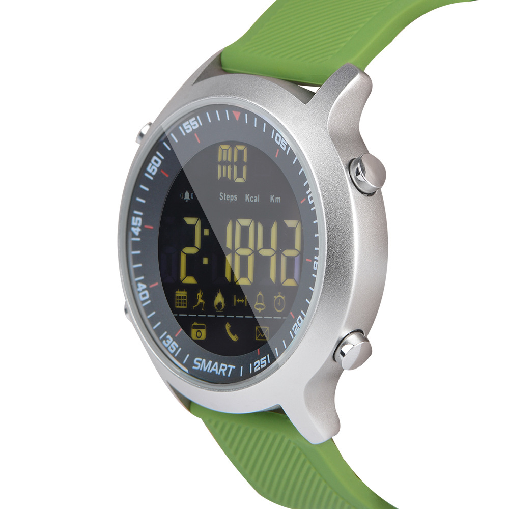 imágenes para Y6 Inteligente Reloj Pasómetro Ultra-larga Espera Xwatch 5ATM Impermeable IP68 Al Aire Libre de Natación Deporte Smartwatch Para Android IOS