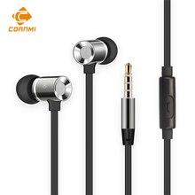 Cornmi наушники для iphone xiaomi mi 6 m6 samsung эндрюс xiomi 3.5 мм проводная гарнитура auriculares гарнитура gamer