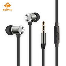 Auricular para iphone xiaomi mi 6 m6 cornmi samsung andrews xiomi 3.5mm wired headset auriculares gaming headset gamer