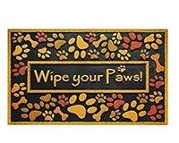 Wipe Paws Doormat Non Slip Machine Washable Outdoor Indoor Entrance Rug Mat