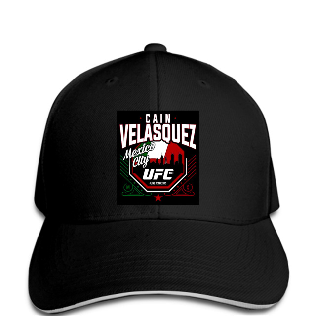 Baseball Cap Cain Velasquez 188 Mexico City Hat Fashion Printed Hat