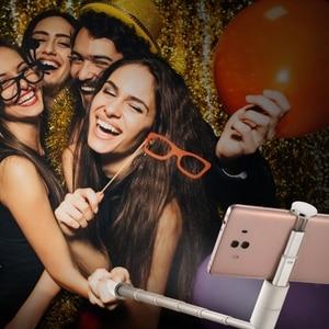Image 5 - Originele Huawei Honor Selfie Stok CF33 Draagbare Bluetooth Vullen Licht 3 Gear Helderheid Monopod Uitschuifbare Stok
