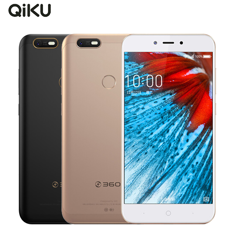 Original 360 N6 Lite Cell Phone 5.5 inch 4GB RAM 32GB ROM Snapdragon 630 Octa Core Android 7.1 13.0MP Camera 4020mAh Smartphone
