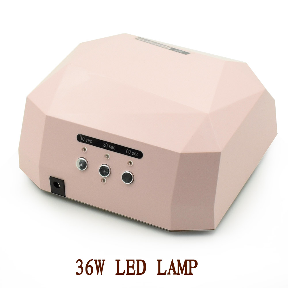 36W UV Led Lamp Nail Dryer 3 Color LED UV Lamp Nail Lamp Curing for UV LED Gel varnishes Nails Polish Nail Art manicure Tools 48 w professional ccfl uv led lamp nail dryer for nail gel polish curing ultraviolet nails lamp dryers art manicure tools