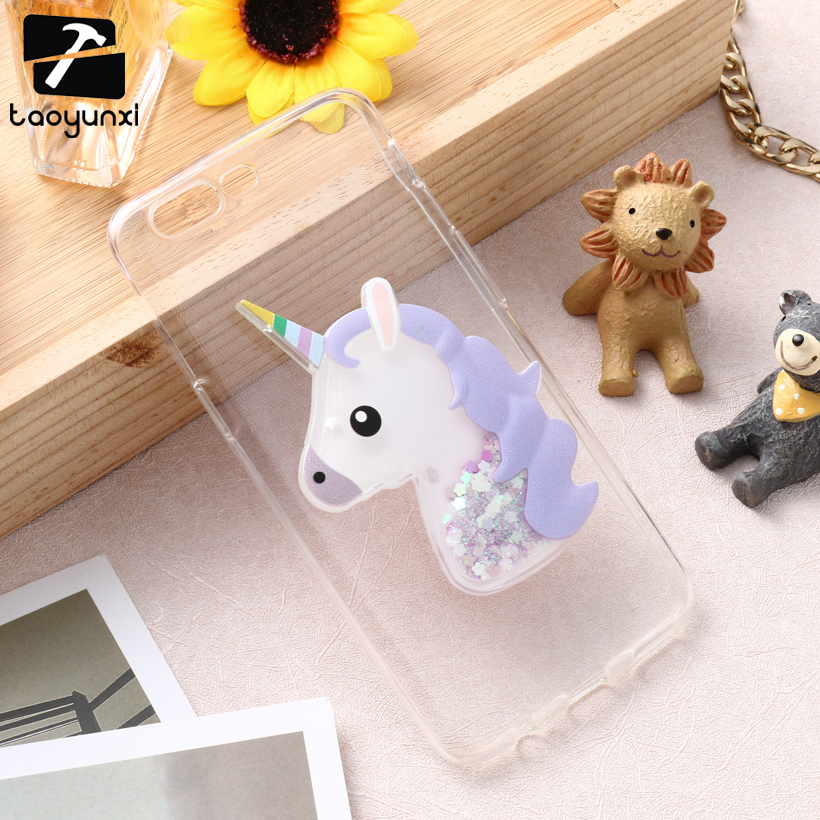 TAOYUNXI Doll Liquid Glitter Cover Case For font b Oneplus b font 5 Oneplus5 one plus