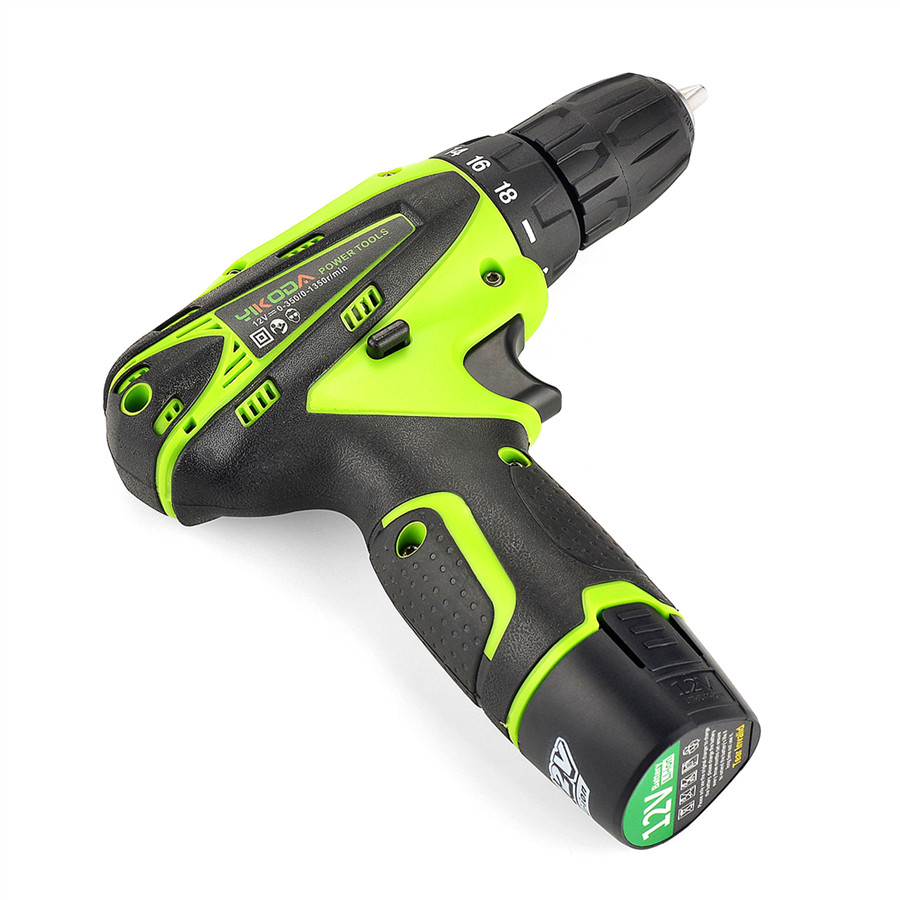 Image 3 - YIKODA 12V Electric Screwdriver Lithium Battery Rechargeable Parafusadeira Furadeira Multi function Cordless Drill Power Tools-in Electric Screwdrivers from Tools on