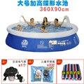 Grande espessamento criança varanda piscina guisado-lagoa piscina infantil brinquedo do verão