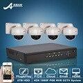 Подключи И Играй 4CH NVR Системы ВИДЕОНАБЛЮДЕНИЯ 2 ТБ HDD 1080 P Full HD 30 ИК Vandalproof Купола CCTV Безопасности Ip-камера POE Комплект Наблюдения