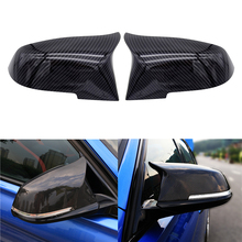 For BMW Series 1 2 3 4 X M 220i 328i 420i F20 F21 F22 F23 F30 F32 F33 F36 X1 F87 E84 M2 Rearview Mirror Covers Cap ABS Pair