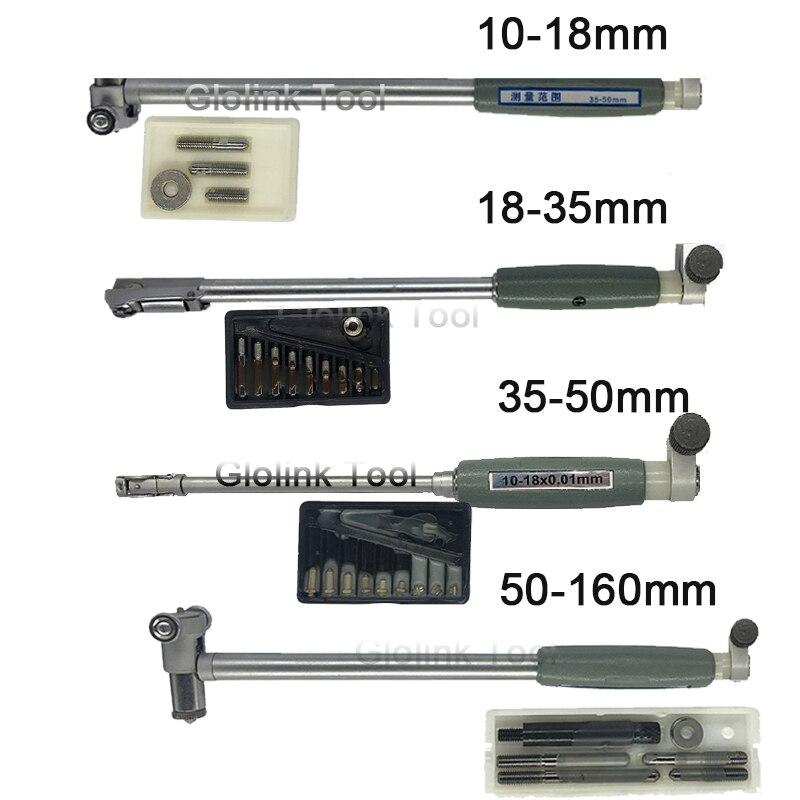 Измерительный стержень для внутреннего диаметра 50-160 мм + аксессуары для зонда, внутренний индикатор диаметра 10-18 мм 18-35 мм 35-50 мм 10 мм, измери...