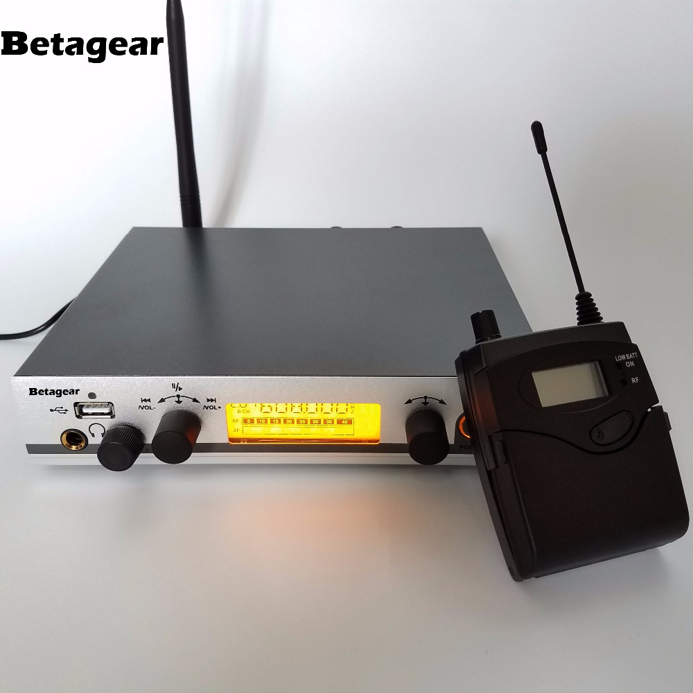 Betagear Free shipping 300 IEM G3 SR 300 IEM G3 cordless in ear monitor system multi channel wireless in ear monitor for stage