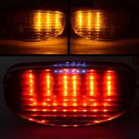 Motorcycle Smoke LED Tail Integrated Light Turn Signal Blinker Lamp for Honda CBR1100XX 97 Suzuki GS500E 99 02 GS500F 2004