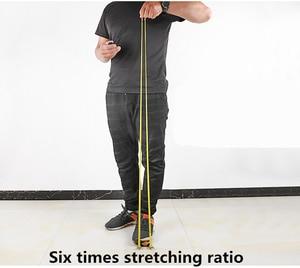 Slingshot охотничий Открытый Сильный традиционный натуральный каучук в плоской кожи tendons Группа Эластичный банджи резиновый ремешок