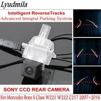 Lyudmila Car Trajectory Camera FOR Mercedes Benz S Class W221 W222 C217 Reverse Backup Camera Intelligent Dynamic Parking Line