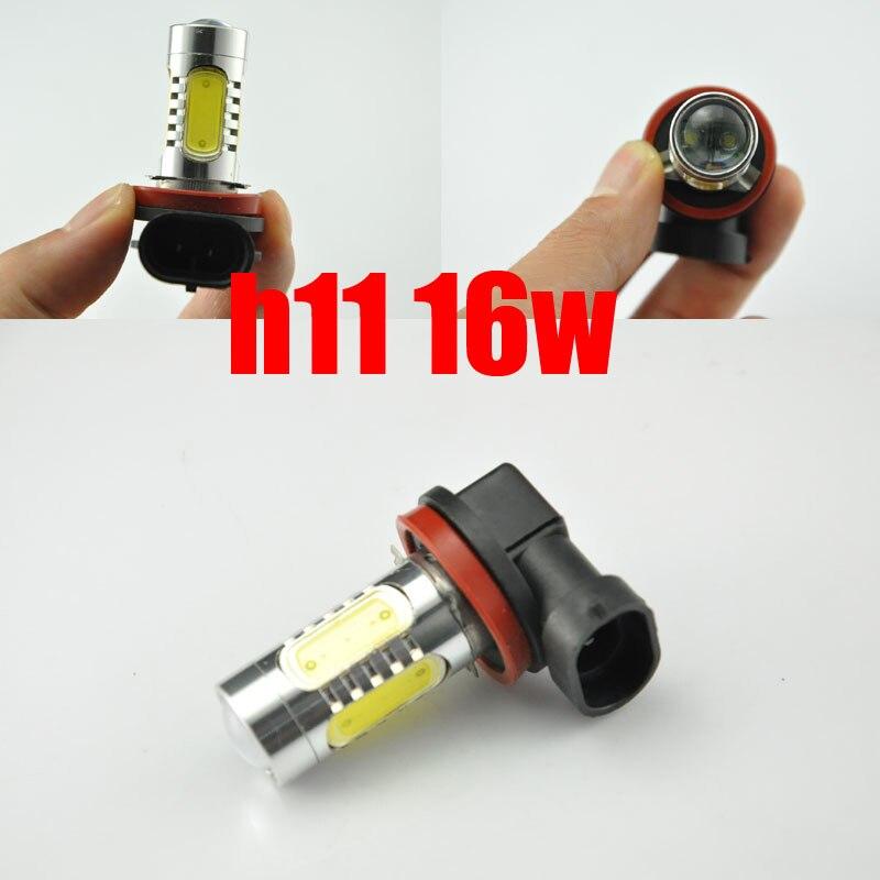 AutoEC 2 x LED svjetla za maglu H11 16w s velikom snagom automobila - Svjetla automobila - Foto 2