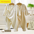 Cotton Baby Rompers Long Sleeves For Babies Jumpsuit Babykleidung Abbigliamento Neonato Baby Girl Unisex Summer Romper 607002