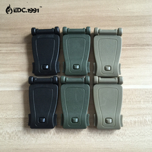 6pcs Strong Clip Buckles Molle System Bag Backpack Connecter Kits Camping Hiking Mountain Climbing EDC Tools