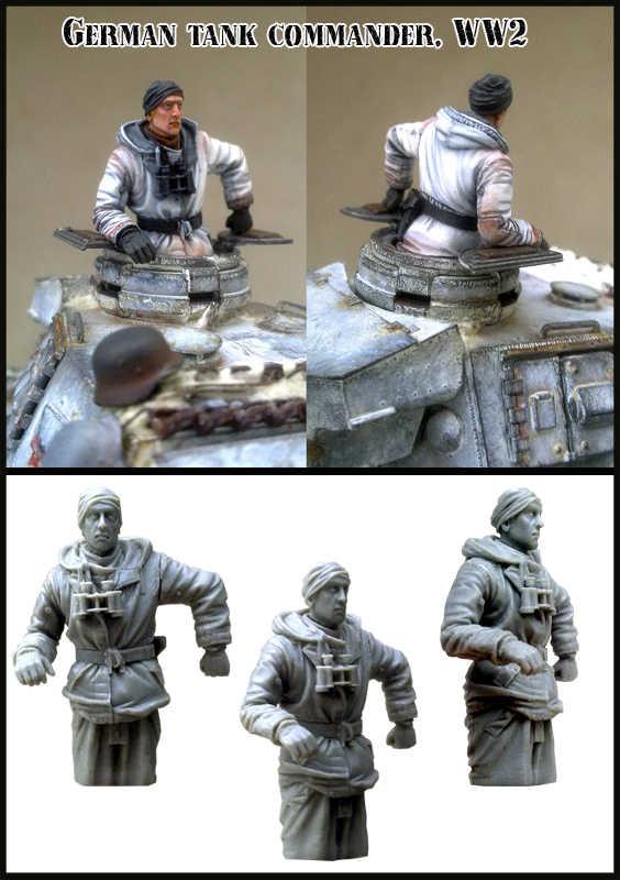 1:35 الحرب العالمية الثانية الشتاء دبابة الجندي