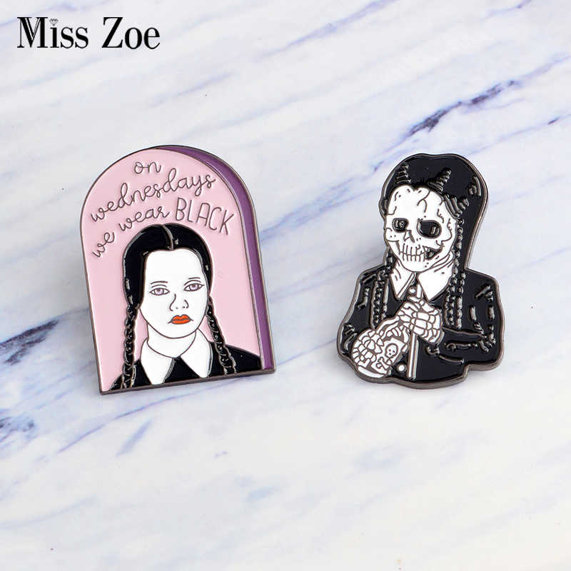 77f842d17ae Detail Feedback Questions about The Addams Family Enamel pin On ...