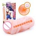 Nueva 5 Tipo de Anime Japón Vagina del Gatito del Bolsillo de Silicona Real Fake Coño Masturbador Masculino Realista Vagina Artificial Juguetes Sexuales para hombres