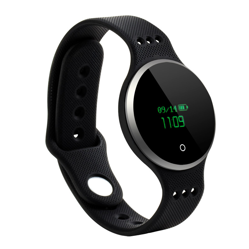 Alarm Clock Remind Wristwatch Activity Tracker Bracelet Heart Rate Monitor Smart Wristbands Remote Camera for Android