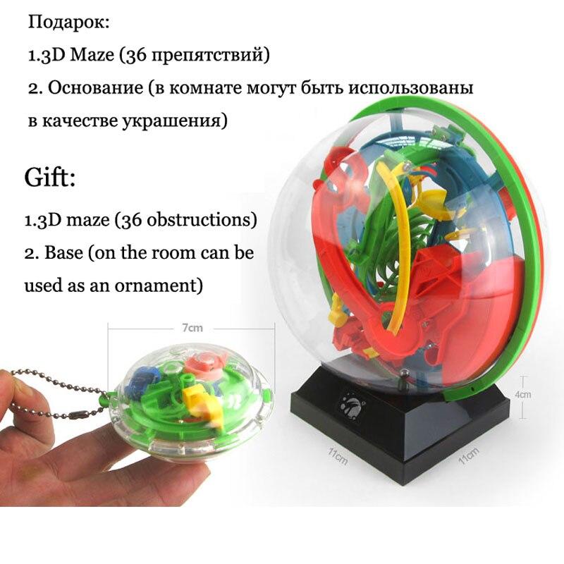 Novi 3D Magic Intellect Puzzle Maze Ball Mozgalica Igra Obrazovanja - Igre i zagonetke - Foto 2