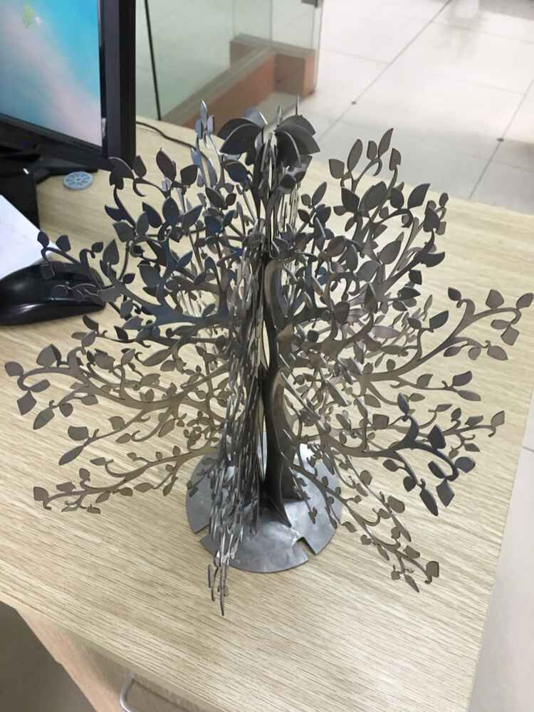 Tree DXF CAD Drawing File For Cnc Laser Cutting Engraving T2