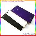 Novo original para sony xperia t3 d5102 d5103 d5106 m50w caso da porta da bateria com botão de volume