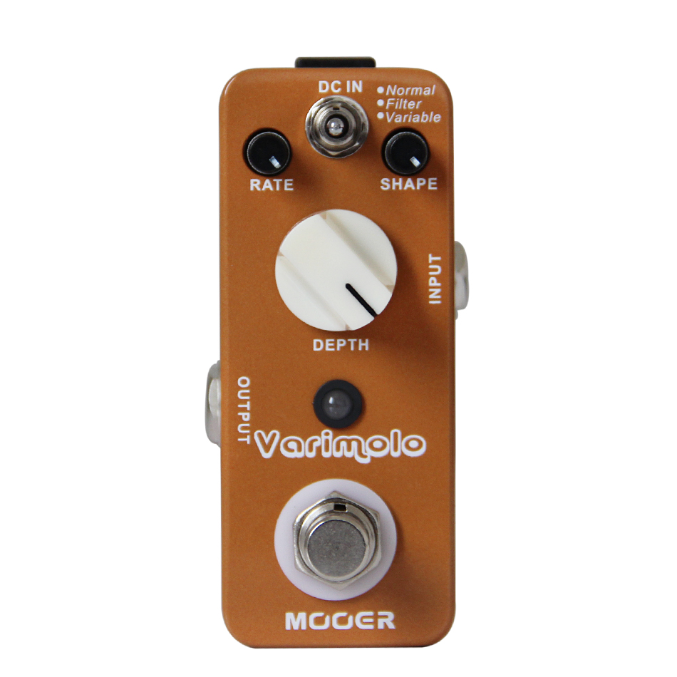 NEW Effect Pedal MOOER Varimolo High quality digital tremolo pedal with three different tremolo modes effect Pedal guitar parts new effect pedal mooer solo distortion pedal full metal shell true bypass