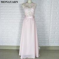 Lady skirt evening dress 2017 light pink fashion ball dress lace party dress