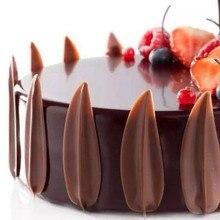 DIY 3D формы листьев силиконовые формы шоколада формы для выпечки на день рождения торт печенье украшения инструменты форма шоколада трафарет Маффин Пан