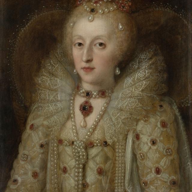 Portrait Of Elizabeth I Poster Print (24 x 36)