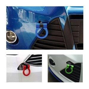 Image 5 - Universal Racing รถ TOW Hook Fit สำหรับ BMW E46 E81 E30 E36 E90 E91 ยุโรปรถ Auto Trailer แหวนรถอุปกรณ์เสริม RS TH006